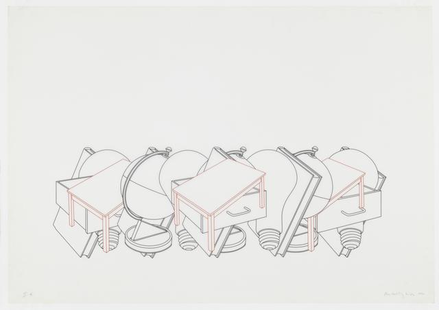 , 'MOMA study IIe,' 1990, Senior & Shopmaker Gallery