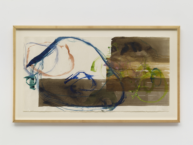 , 'New River Watercolors (Series I, #5),' 1988, Sandra Gering Inc