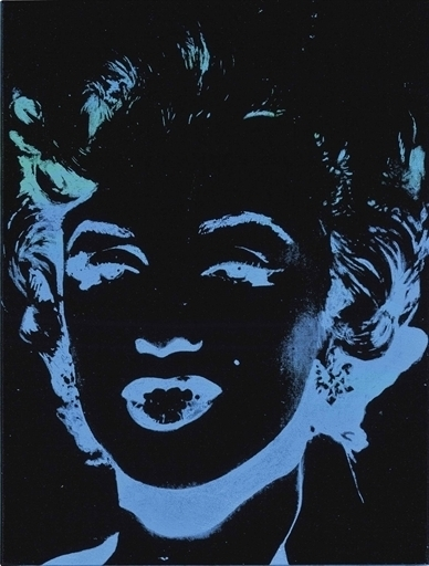 Andy Warhol, 'Marilyn (Reversal)', Synthetic polymer and silkscreen ink on canvas, Christie's