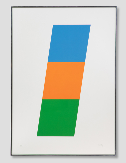, 'Blue/Red-Orange/Green,' 1970-1971, Zane Bennett Contemporary Art