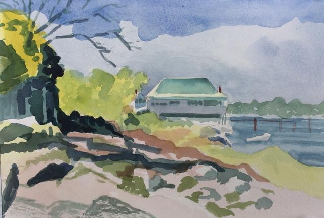 , 'The Boathouse,' 2018, Matt Brown Fine Art