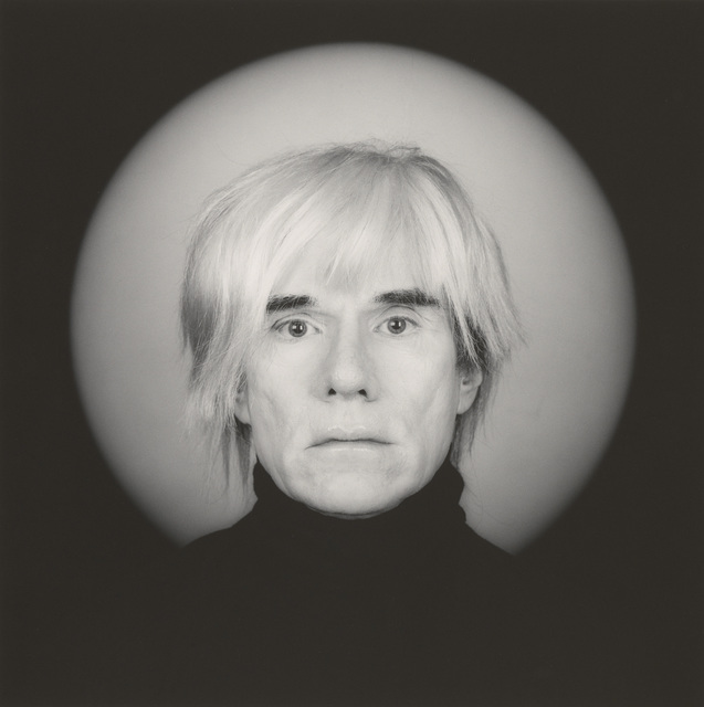 , 'Andy Warhol,' 1986, Montreal Museum of Fine Arts
