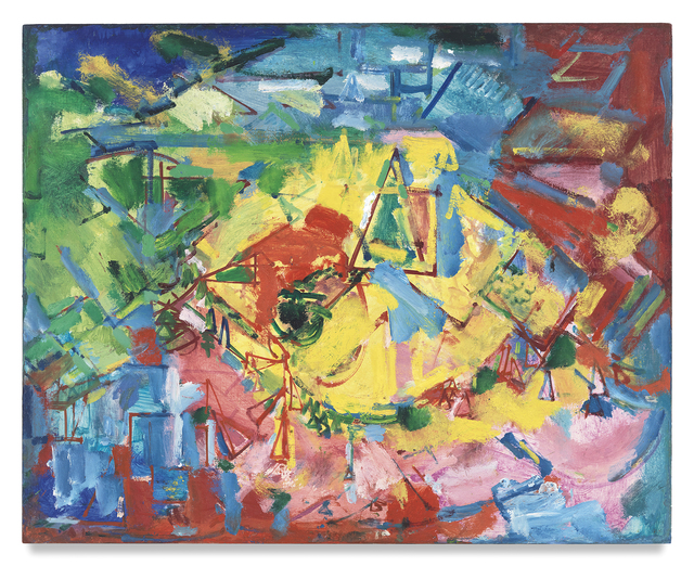 , '[Landscape],' ca. 1941, Miles McEnery Gallery