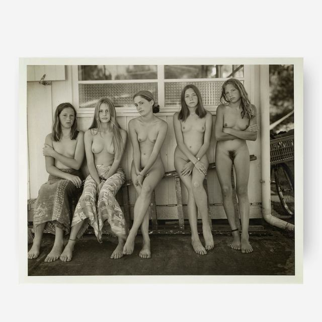 Jock Sturges, 'Tracy, Alice, Melanie, Estelle & Mylene, France', 1996, Capsule Gallery Auction