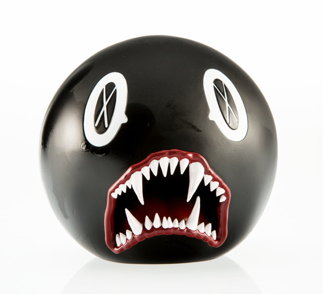 KAWS, 'Cat Teeth Bank (Black)', 2007, Other, Painted cast vinyl, Heritage Auctions