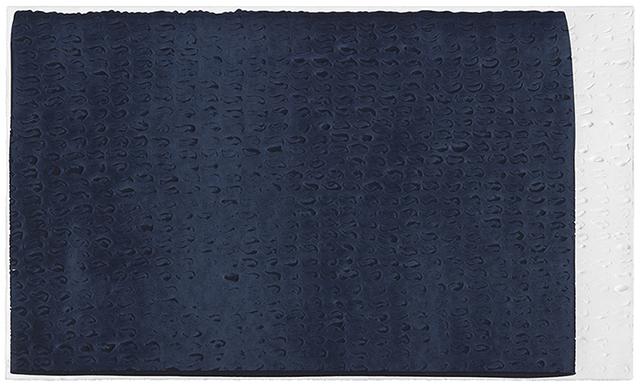 , 'Brushstroke Matrix, M (Payne's Gray),' 2015, Gemini G.E.L. at Joni Moisant Weyl