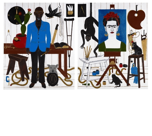 , 'Adoration of Frida ,' 2013, Ed Cross Fine Art