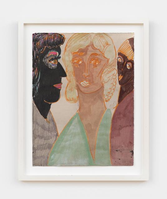 , 'Conversation,' 2015, Anton Kern Gallery