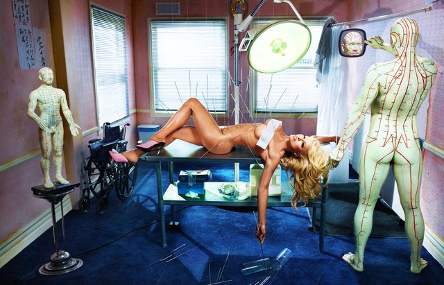 , 'Pamela Anderson: He Aimed the Arrows of Love that Puncture My Aching Heart,' 2010, Staley-Wise Gallery