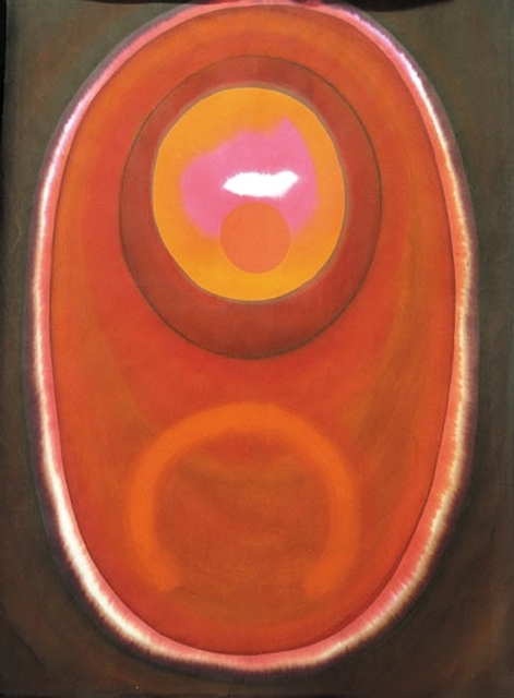 Prafulla Mohanti, 'Untitled (Brown and Red)', 1974, Aicon Gallery