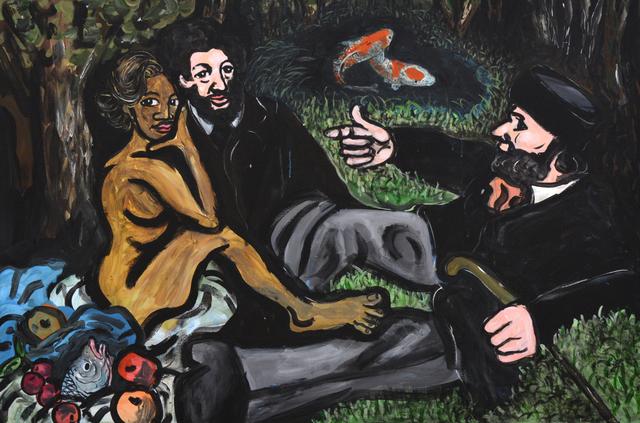 , 'Fish Fry On Da' Grass (Version 2) ,' 2017, Ethan Cohen New York