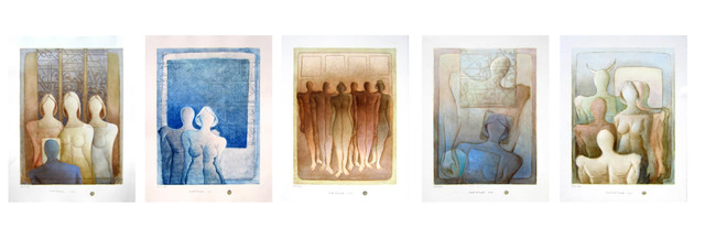 , 'From the Desert 3 ,' 2012, al markhiya gallery