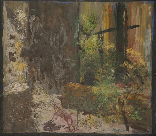 Gaylen Hansen, 'Red Dog in Woods', 2019, Linda Hodges Gallery