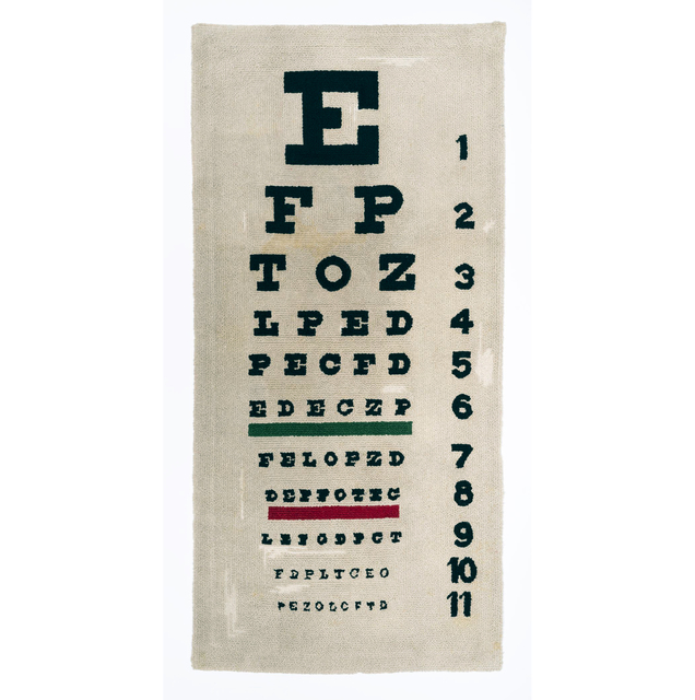 , 'Eye Chart,' 1964, Allan Stone Projects