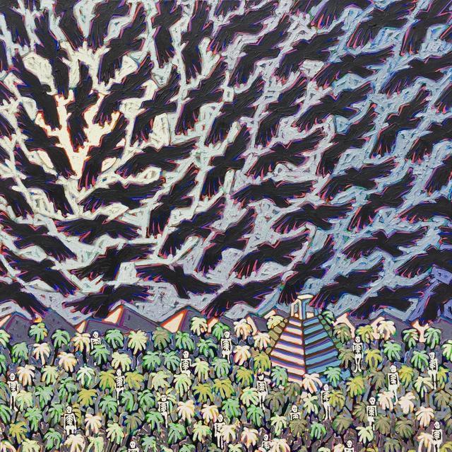 Tom Francis, 'Night Birds', 1995, Thomas Deans Fine Art