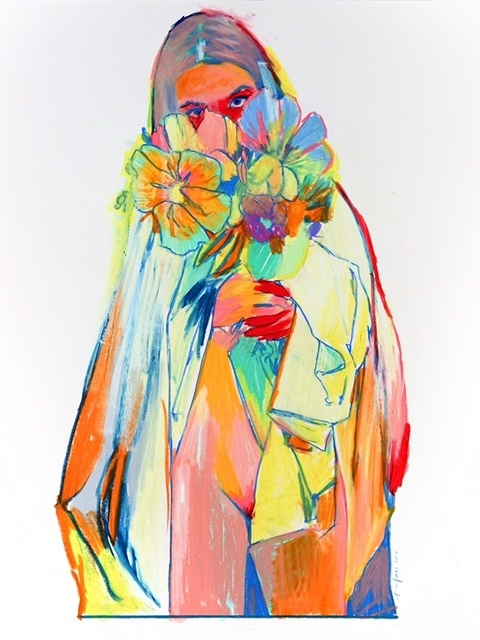 , 'Flowers,' 2017, New Gallery of Modern Art