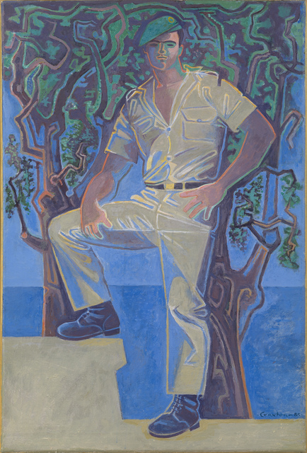 , 'Soldier by the Sea,' 1985, Osborne Samuel