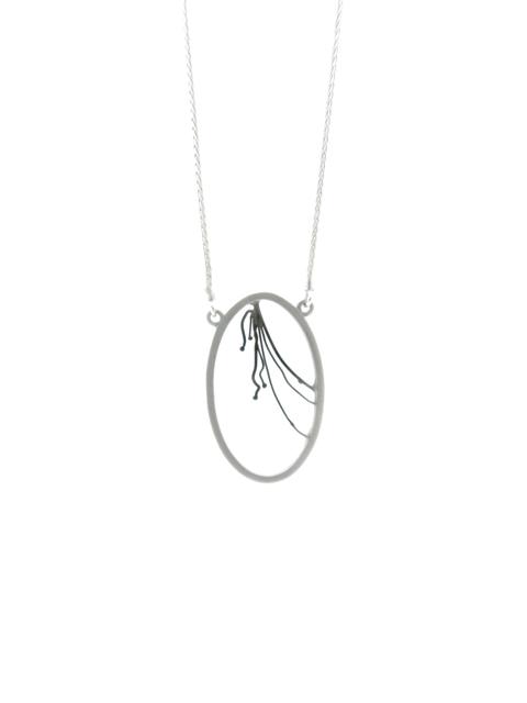 , 'Small Oval Powerline Pendant,' , Facèré Jewelry Art Gallery