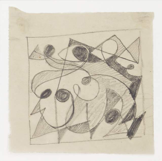 , 'Figurale - Theta,' 1950, Jahn und Jahn