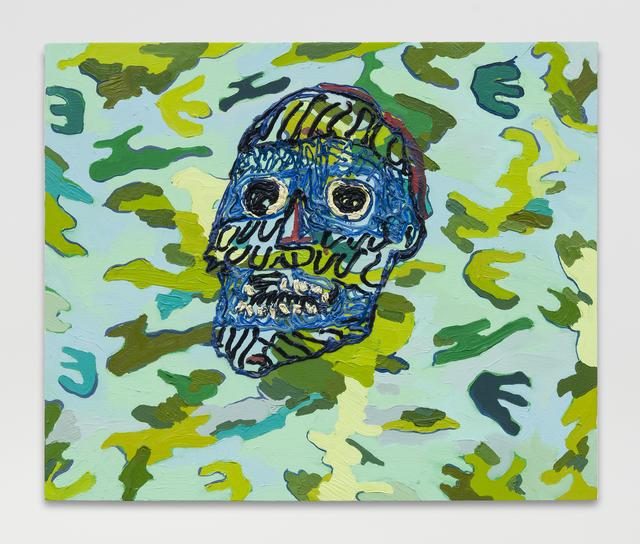 , 'Small Camo,' 2016, MARTOS GALLERY