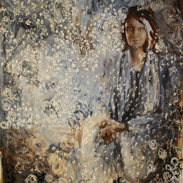 , 'Esra Jah,' 2009, Wide Painting