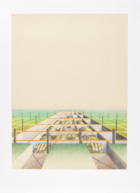 , 'eingekastelt,' 1971, PPC Philipp Pflug Contemporary