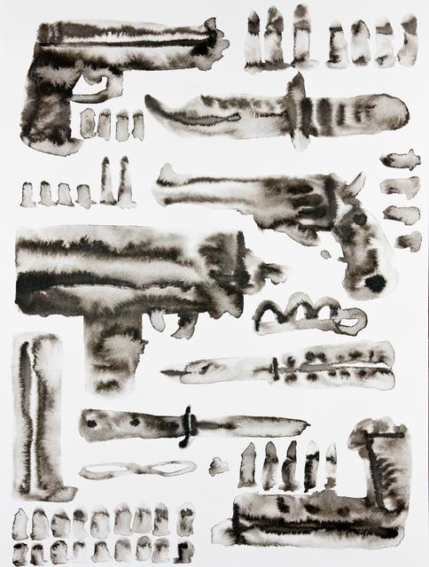 Guðmundur Thoroddsen, 'Tools of Power and Fear', 2011, Asya Geisberg Gallery