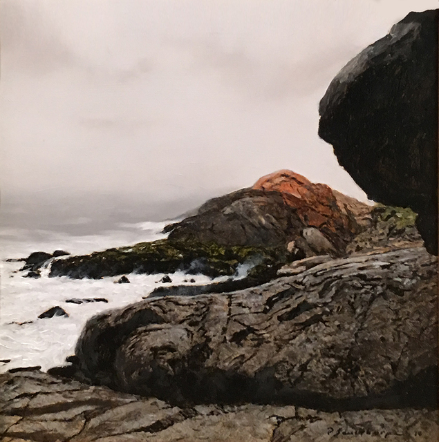 Peter Sculthorpe, 'Heavy Weather at Gull Rock - Monhegan', 2019, Somerville Manning Gallery