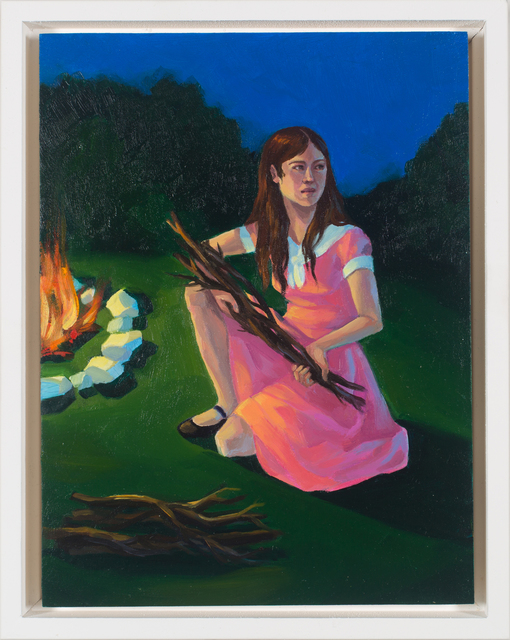 Zoe Hawk, 'Campfire No. 2', 2019, Sager Braudis Gallery