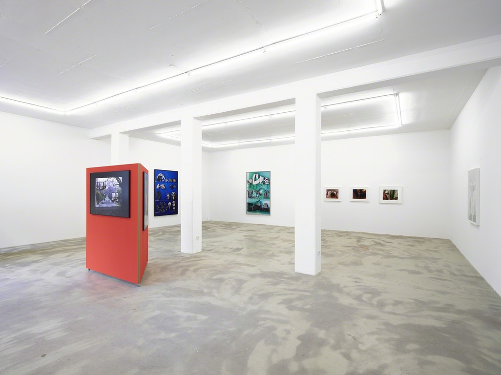 exhibition view 'The Human Apparatus', Klemm's, Berlin 2015