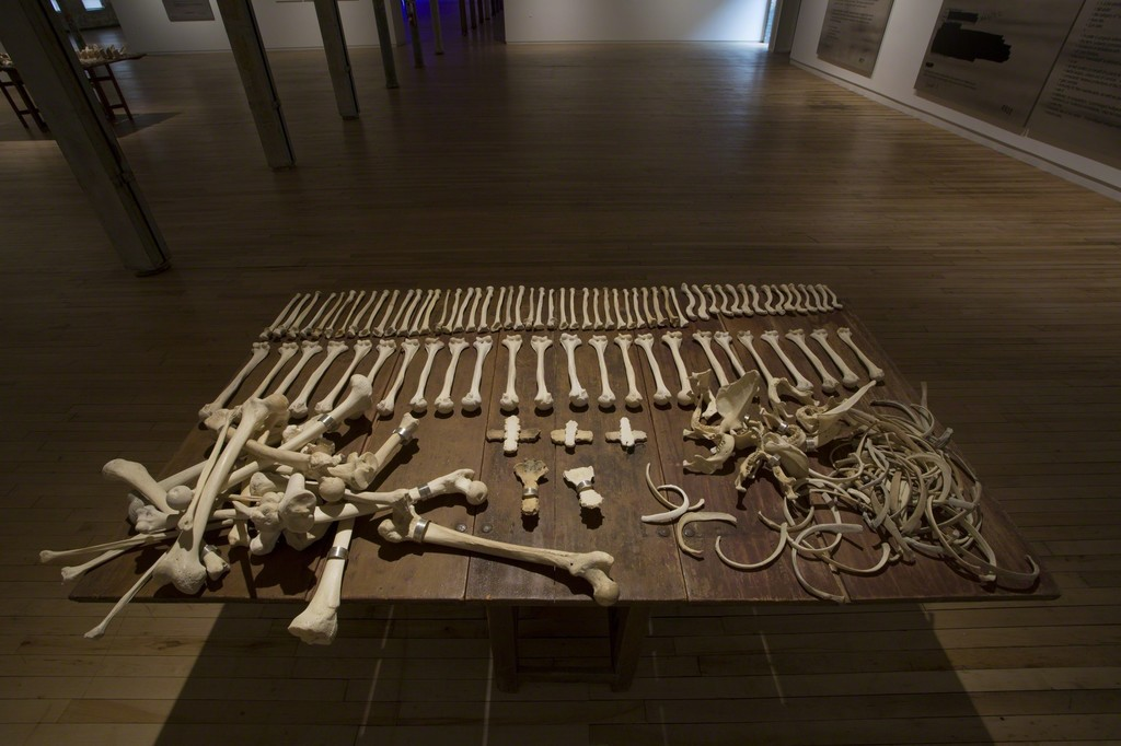 Jenny Holzer, Lustmord Table, 1994