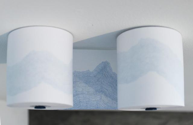 , 'Record (blue),' 2014, Josée Bienvenu