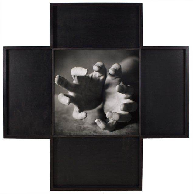 Oliver Mark, 'Jenny Holzer's hands, Leipzig', 1996, °CLAIR Galerie