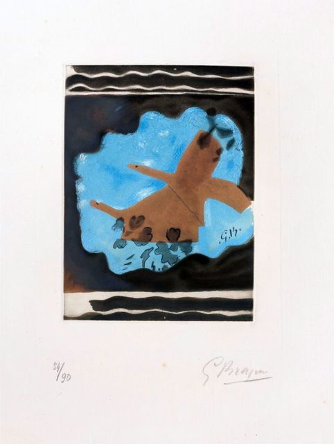 Georges Braque, 'Migration ', 1962, Print, Etching on paper, Le Coin des Arts