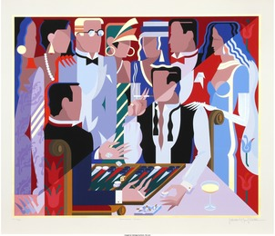 Giancarlo Impiglia, 'Backgammon Players,' 1988, Heritage Auctions: Valentine's Day Prints & Multiples