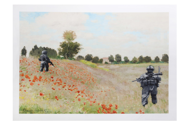 Luke Cornish (ELK), 'Poppy', Chiswick Auctions