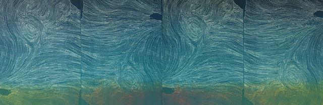 Lisa Schonberg, 'Turbulence & Evening Sun', 2018, The Bonfoey Gallery