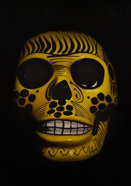, 'Yellow Sugar Skull,' 2018, Lyons Wier Gallery