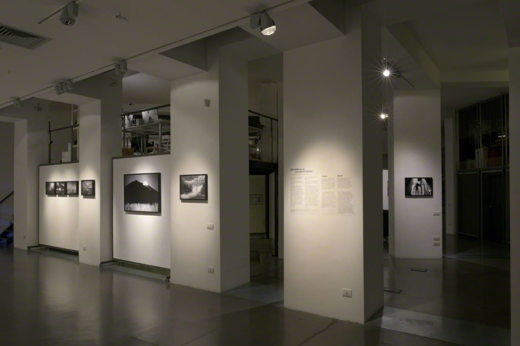Deep Down into the Dark Rooms of our Soul exhibition installation shot.