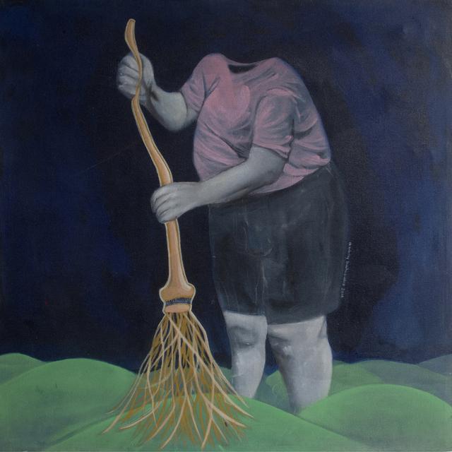 , 'The Golden Broom,' 2015, Di Legno Gallery