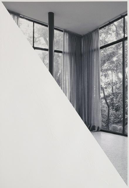 , 'Diagonal inside the glass house,' 2015, Baró Galeria