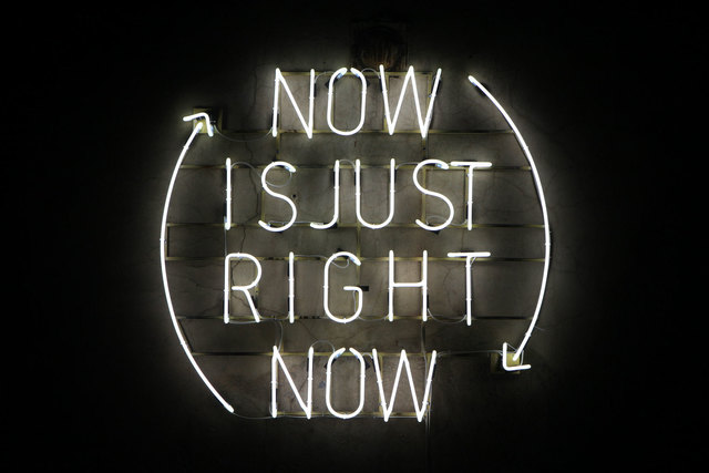 , 'Now is just right now,' 2012, Anna Nova Gallery