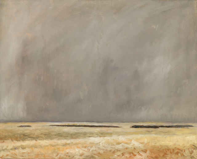 , 'Snow on the Fields,' 2014, Seager Gray Gallery