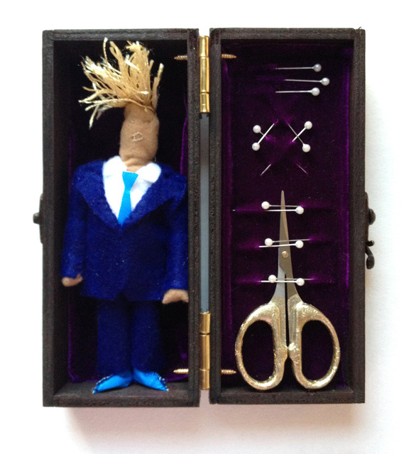 , 'Trump Voodoo Box,' 2016, The Untitled Space