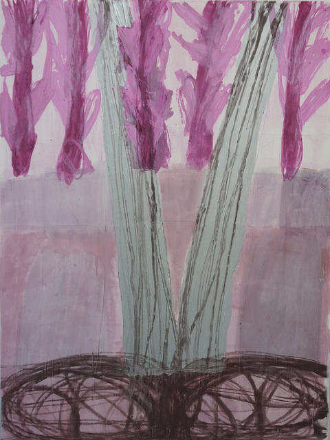 Robert Solomon, 'tree in meadow', 2018, The Painting Center