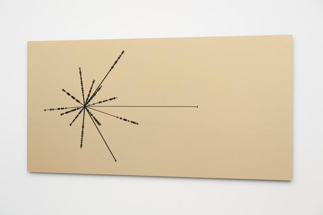 Collin Parson, 'Pulsar Map', 2016, Michael Warren Contemporary