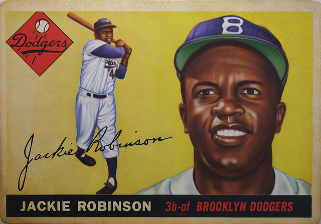 , '1955 Topps Jackie Robinson ,' 2017, Axiom Contemporary