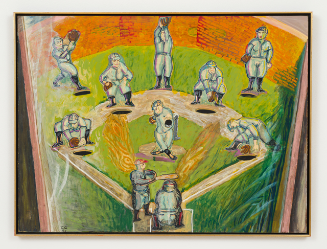 , 'Pinball Baseball,' 1966, L.A. Louver