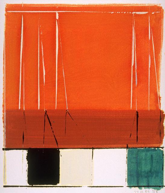 , 'Wallseries Study #6,' 1989, Galerie d'Orsay