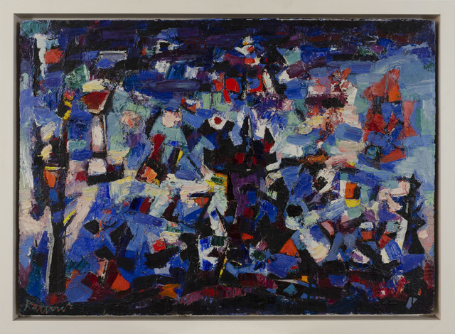 Abraham Rattner, 'Storm Composition #3', 1955, Capsule Gallery Auction